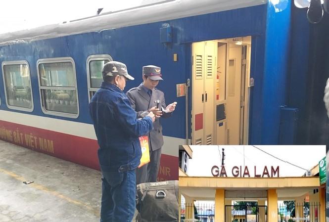 Dừng hoạt động chuyến tàu hỏa Hà Nội - Trung Quốc từ hôm nay để đề phòng dịch corona. Ảnh: T.Đảng
