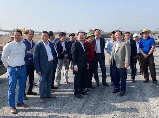 Chủ tịch TP Hà Nội và các đơn vị có liên quan thực tế tại dự án chiều 3/12