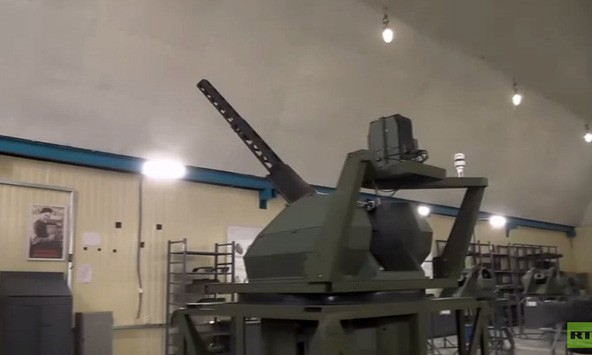 Hệ thống vũ khí mới (Ảnh: RT)