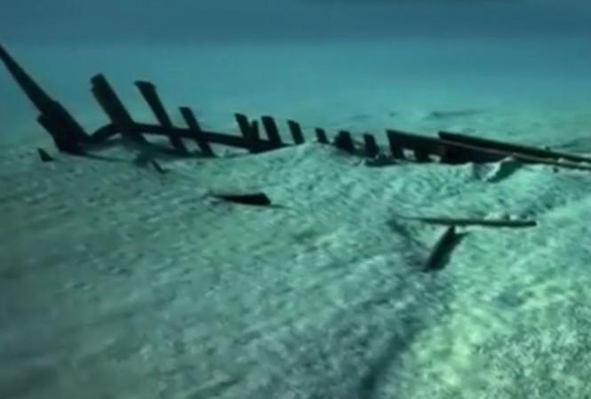 Tàu biển 40 tấn nguyên vẹn sau 500 năm dưới lòng sông