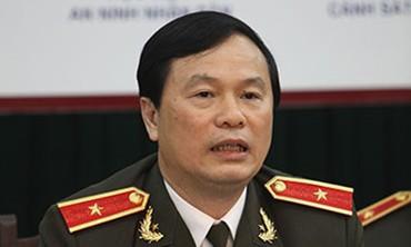 Thiếu tướng GS.TS Bùi Minh Giám, Cục trưởng Cục đào tạo, Tổng cục chính trị CAND (Bộ Công an) (Ảnh: Thiện Hoàng)