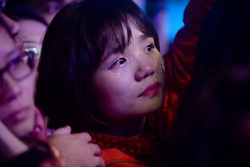 Nhiều khán giả Việt khóc trước những chia sẻ chân thành của Trần Lập về căn bệnh ung thư anh đang mắc phải. Ảnh: Giang Huy.