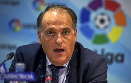 Chủ tịch La Liga, Javier Tebas lên tiếng cảnh báo Real Madrid