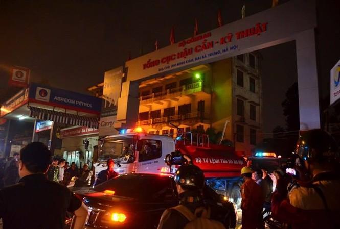 Cháy lớn tại 199 Minh Khai, Hà Nội