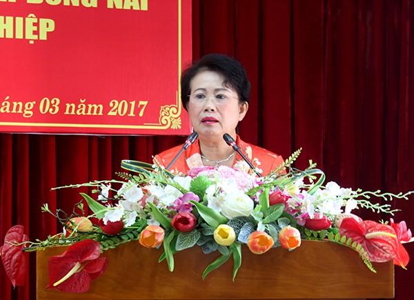 Bà Phan Thị Mỹ Thanh, Phó Bí thư tỉnh ủy Đồng Nai