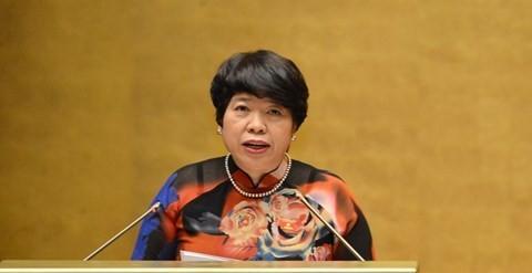 Bà Nguyễn Thúy Anh, Chủ nhiệm Uỷ ban Về các vấn đề xã hội