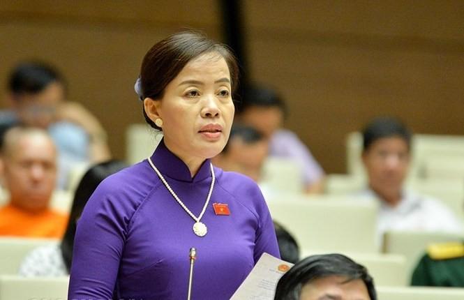 ĐBQH Nguyễn Thị Kim Thúy - Đà Nẵng (ảnh Như Ý)