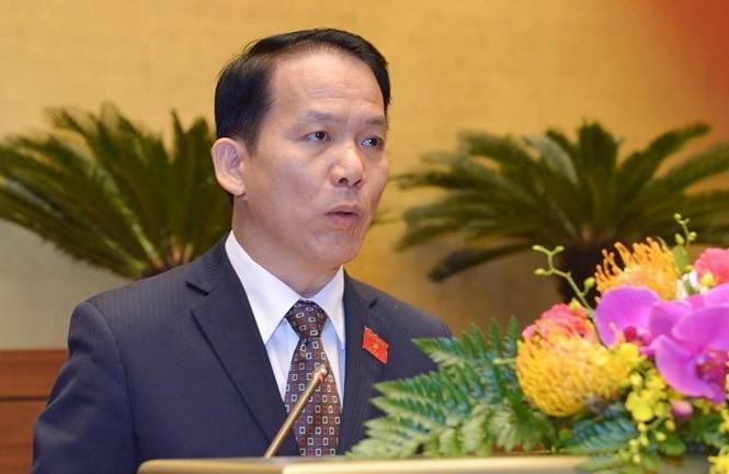 Ông Hoàng Thanh Tùng, Phó Chủ nhiệm Uỷ ban Pháp luật