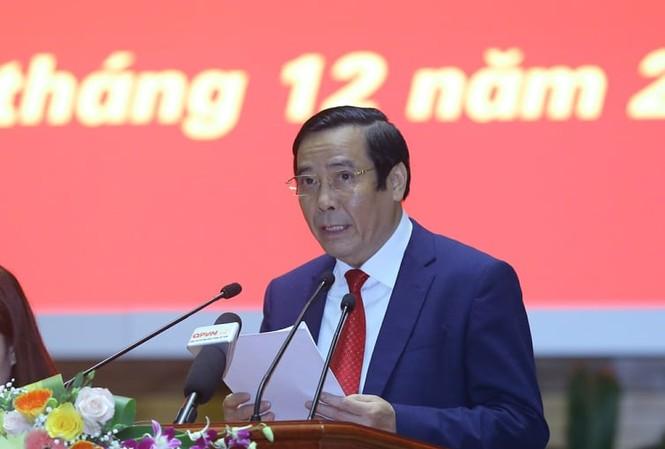 Phó Trưởng Ban Tổ chức T.Ư Nguyễn Thanh Bình trình bày báo cáo tổng kết. Ảnh: Như Ý