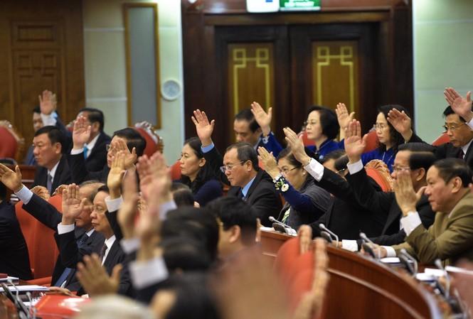 Khai mạc Hội nghị T.Ư 12 (ảnh N.B)