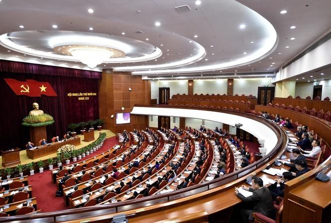 Thông báo toàn văn Hội nghị Ban Chấp hành T.Ư 12