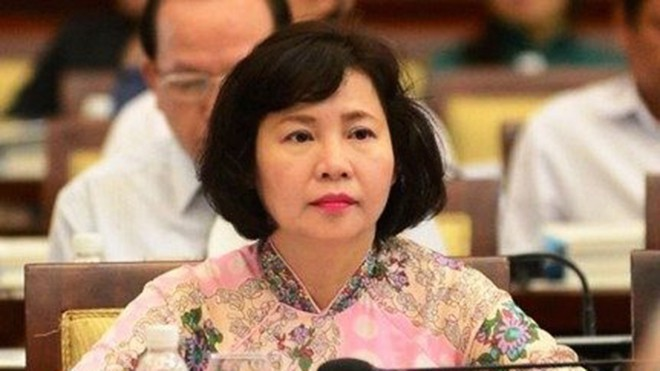 Cựu Thứ trưởng Bộ Công thương Hồ Thị Kim Thoa