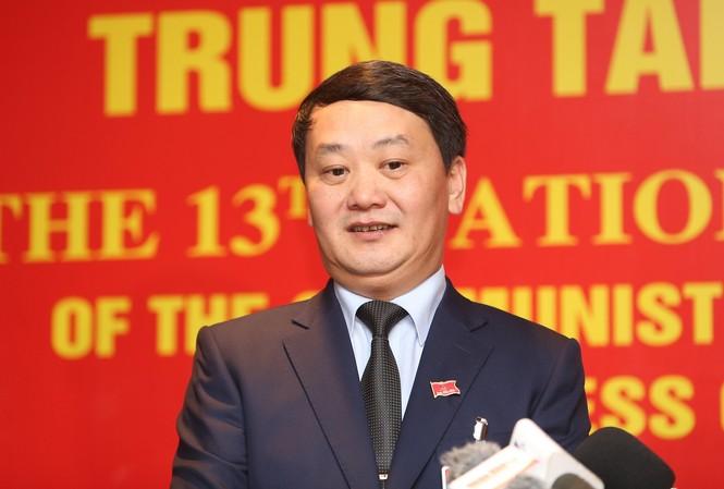 Ông Hầu A Lềnh, Phó ch.ủ t.ịch - Tổng thư ký Uỷ ban T.Ư MTTQ Việt Nam (Ảnh Như Ý)