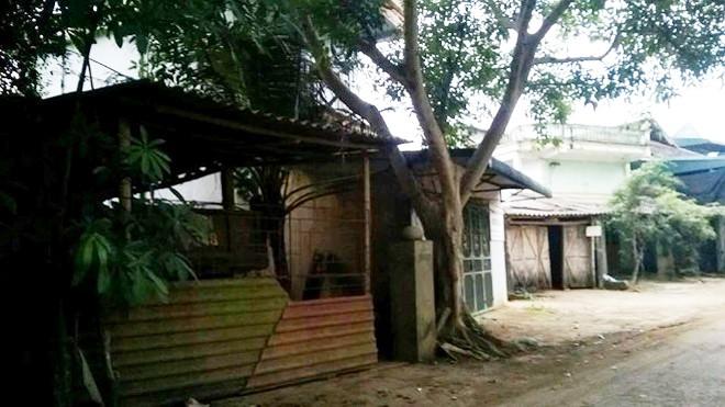 Ngôi nhà nơi bà Thuận treo cổ tự tử