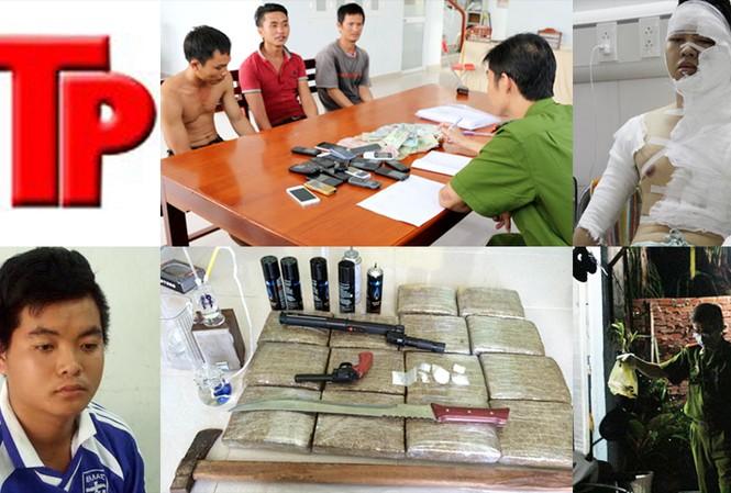 Bản tin Hình sự 18H:  Đột nhập 'bản doanh ma túy', thu 14 bánh cần sa
