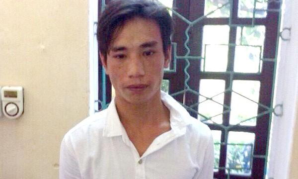 Lưu Văn Duy khi mới bị bắt