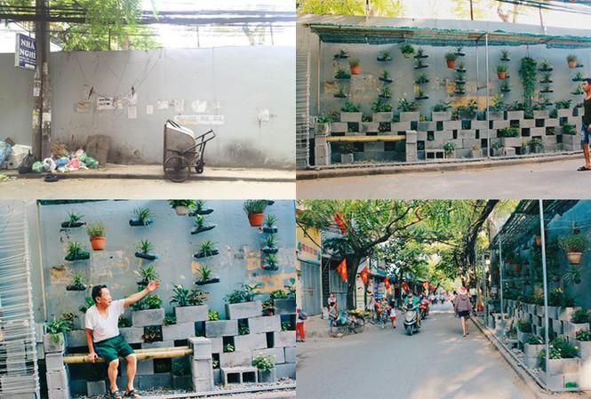 """Sinh viên Hà Nội biến bãi rác """"dọn 10 năm không sạch"""" thành vườn hoa"""