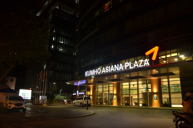 Tòa nhà Kumho Asiana Plaza nơi xảy ra vụ việc