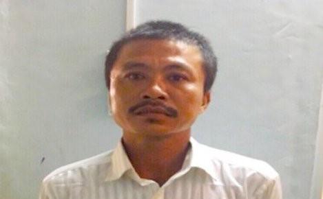 Người đàn ông giết chồng nhân tình cũ bị bắt giữ. Ảnh: C.A