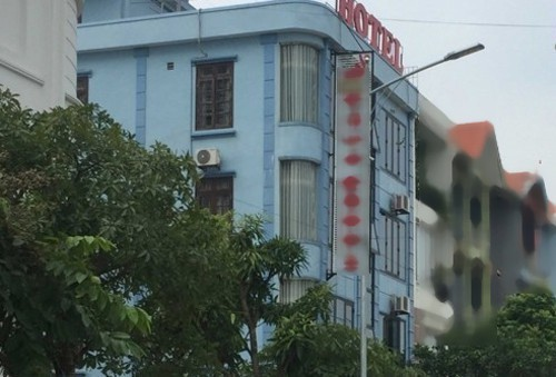 Khách sạn nơi những đối tượng được cho là đã thực hiện hành vi đồi bại với cháu M.