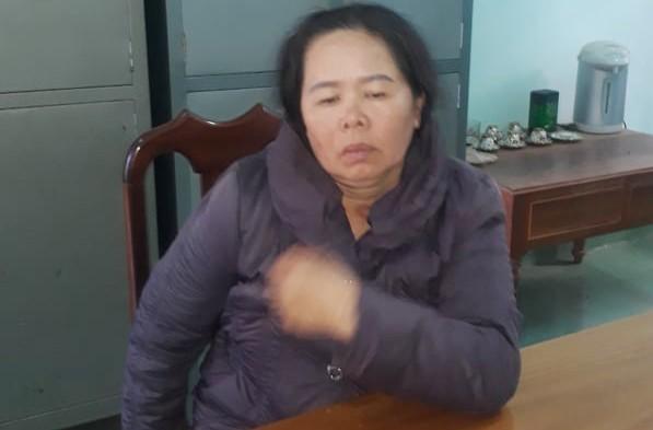 Huỳnh Thị Thanh Hương tại cơ quan điều tra
