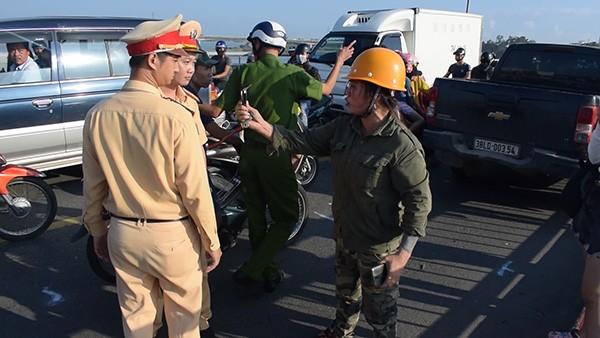 Bà Nguyễn Thị Hà gây cản trở lực lượng Công an làm nhiệm vụ