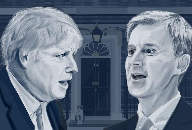Ai sẽ trở thành chủ nhân tiếp theo của ngôi nhà số 10 phố Downing? (Ảnh: BBC)