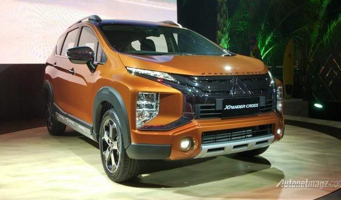 Mitsubishi Xpander Cross dành cho thị trường Indonesia. Ảnh: AutonetMagz