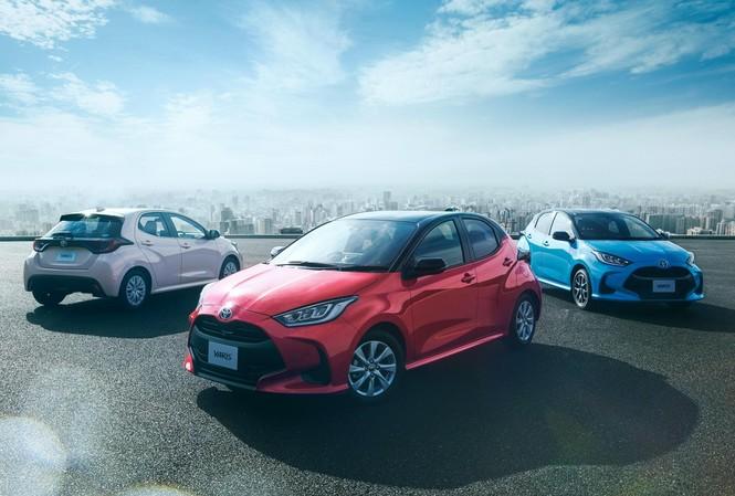 Toyota Yaris thế hệ mới giá 295 triệu đồng tại Nhật Bản