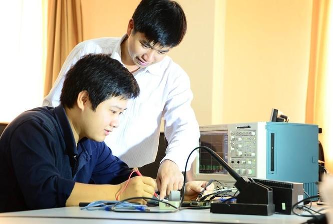 Sinh viên ngành Công nghệ thông tin của trường ĐH Bách khoa Hà Nội