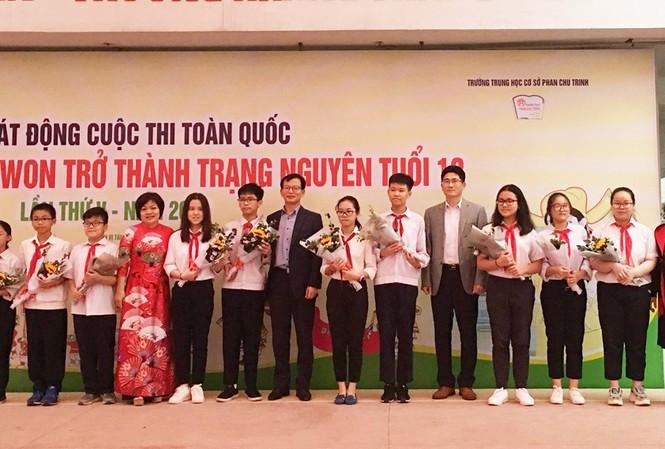Học sinh trường THCS Phan Chu Trinh tham gia vòng sơ khảo tại trường