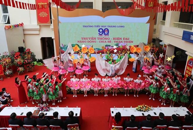 Trường Tiểu học 'lão làng' nhất Thủ đô kỷ niệm 90 năm thành lập
