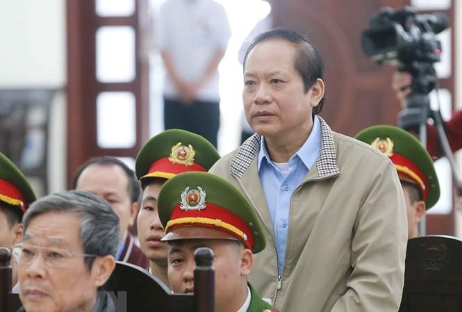 Bị cáo Trương Minh Tuấn tại tòa.