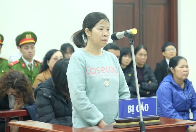 Bị cáo Nguyễn Bích Quy trong phiên tòa