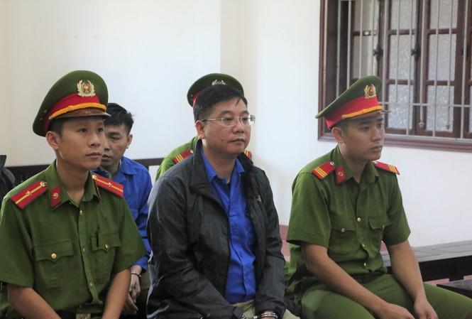 Bị cáo Khương Ngọc Chất - cựu Trưởng phòng An ninh chính trị nội bộ.