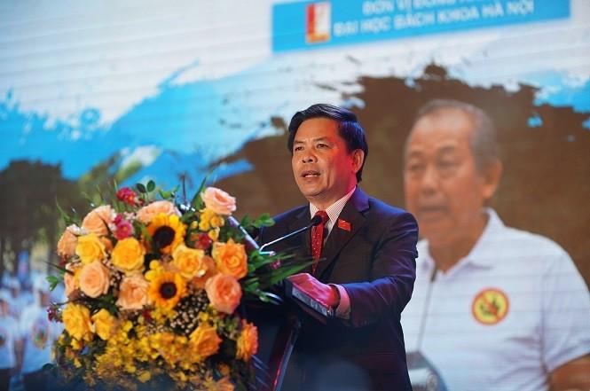 Ông Nguyễn Văn Thể - Bộ trưởng Bộ GTVT.