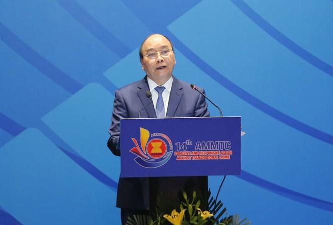 Thủ tướng phát biểu tại Hội nghị AMMTC 14.