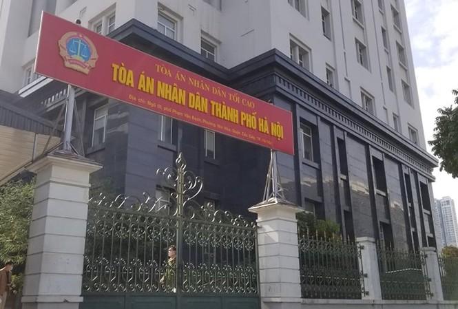 TAND TP Hà Nội dự kiến sẽ dựng rạp để phục vụ phiên xử vụ Liên Kết Việt.