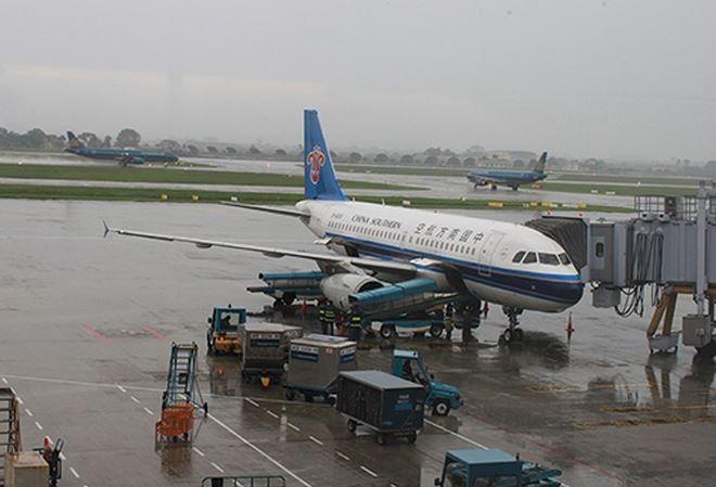 Đề xuất hạn chế chuyến bay ở Nội Bài do ảnh hưởng của bão số 3
