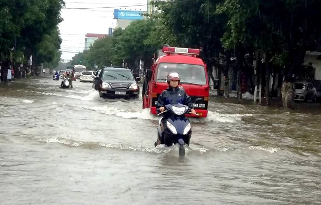 Giữa đến cuối tuần sau các tỉnh từ Hà Tĩnh đến Khánh Hòa có khả năng đón một đơn mưa rất lớn.