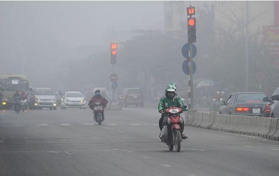 Ô nhiễm không khí tái diễn khắp miền Bắc