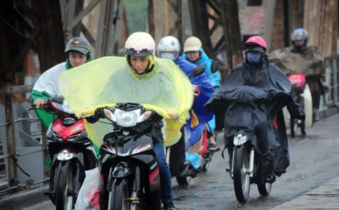 Không khí lạnh tăng cường sẽ gây mưa rào, trời chuyển rét cho các tỉnh Bắc Bộ, Bắc Trung Bộ.