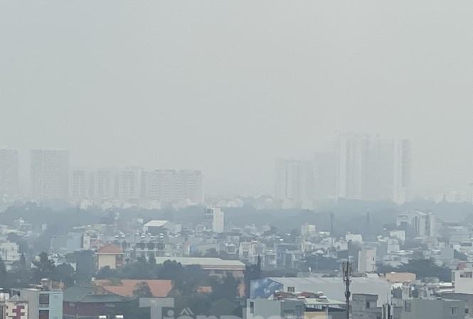 Sương mù ở TPHCM do ô nhiễm nghiêm trọng