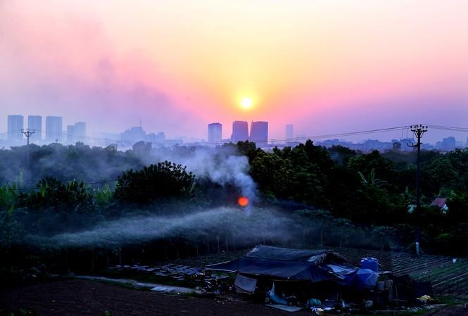 Hà Nội ngày thứ 4 liên tiếp bị ô nhiễm không khí nghiêm trọng vào buổi tối và đêm.