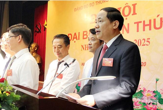 Ông Phạm Anh Tuấn, tân Bí thư Đảng ủy Bộ Thông tin và Truyền thông. Ảnh: Mic.gov.vn