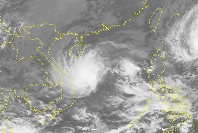 Sau bão số 10, dự báo bão số 11 sẽ nối đuôi vào Biển Đông những ngày tới.