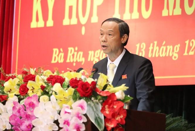 Ông Nguyễn Văn Thọ phát biểu nhậm chức