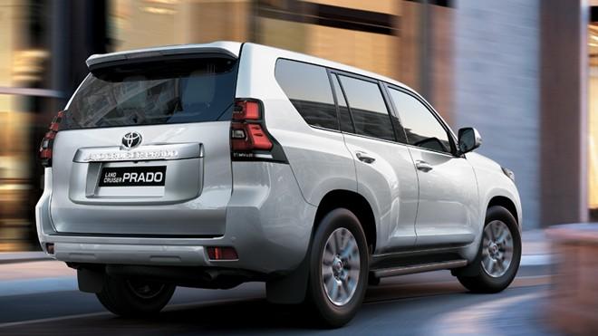 Land Cruiser Prado 2017 giá bán lẻ là 2.262.000.000 đồng