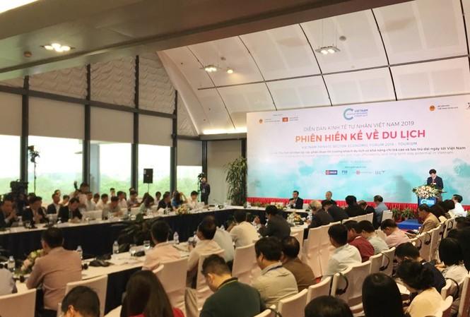 Toàn cảnh phiên hiến kế về du lịch tại Diễn đàn Kinh tế Tư nhân 2019