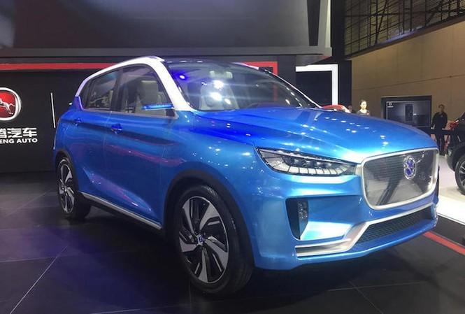 Mẫu ô tô Hanteng nhập khẩu từ Trung Quốc. Ảnh minh họa (nguồn: Internet)